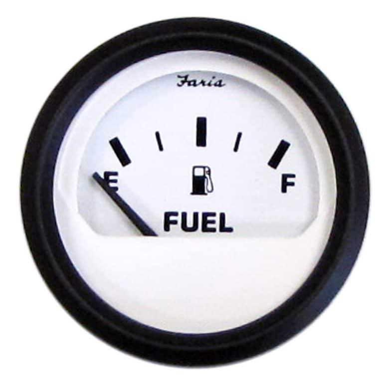 faria euro white gauges