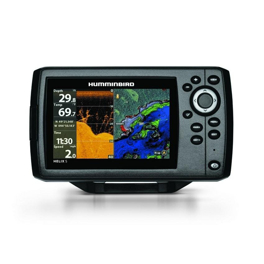 Humminbird Helix 5 DI G2 Sonar GPS with Navionics Chip