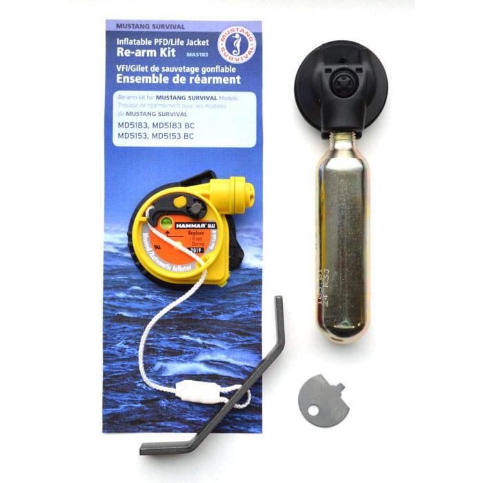 Mustang MA5183 Elite Hydrostatic Inflator Rearm Kit | Poco Marine ...