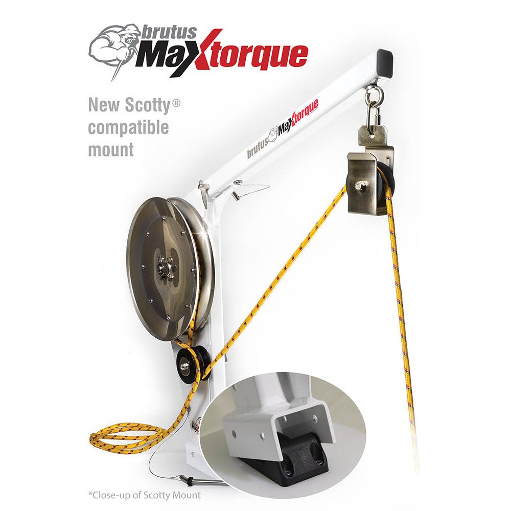 Ace Line Hauler Brutus Max Torque Scotty Compatible Trap Puller