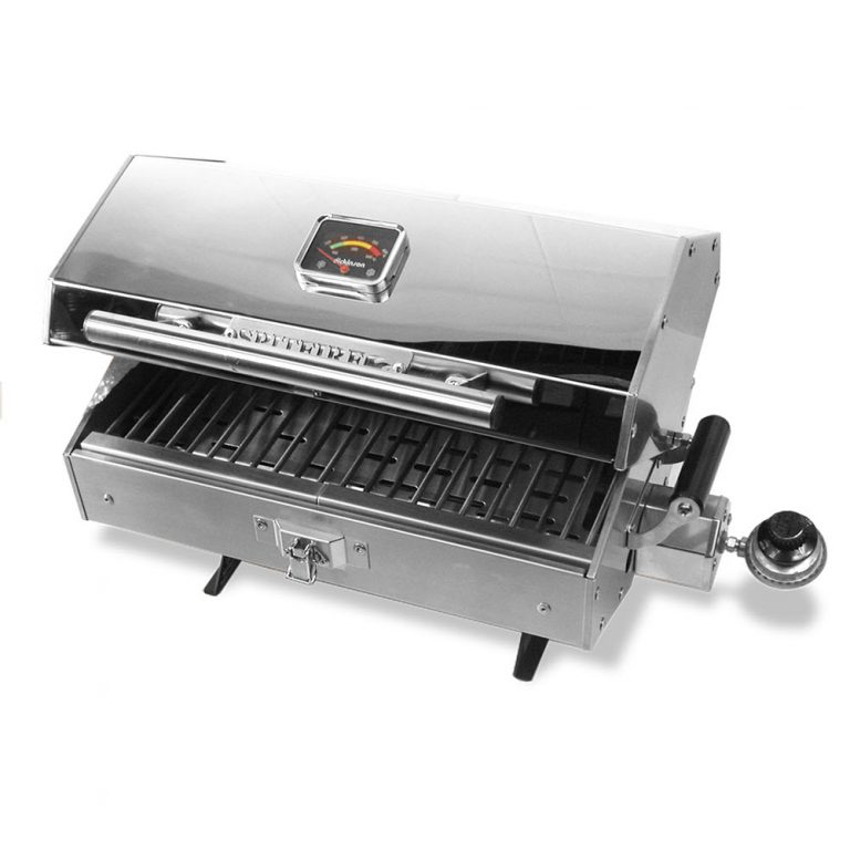 Dickinson Spitfire 180 Stainless Steel Marine Barbeque