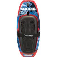 scarab kneeboard tow hook with retractable fins