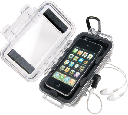 info for 2b60f cf05a Pelican Pro Gear i1015 Waterproof iPhone Case Clear Top