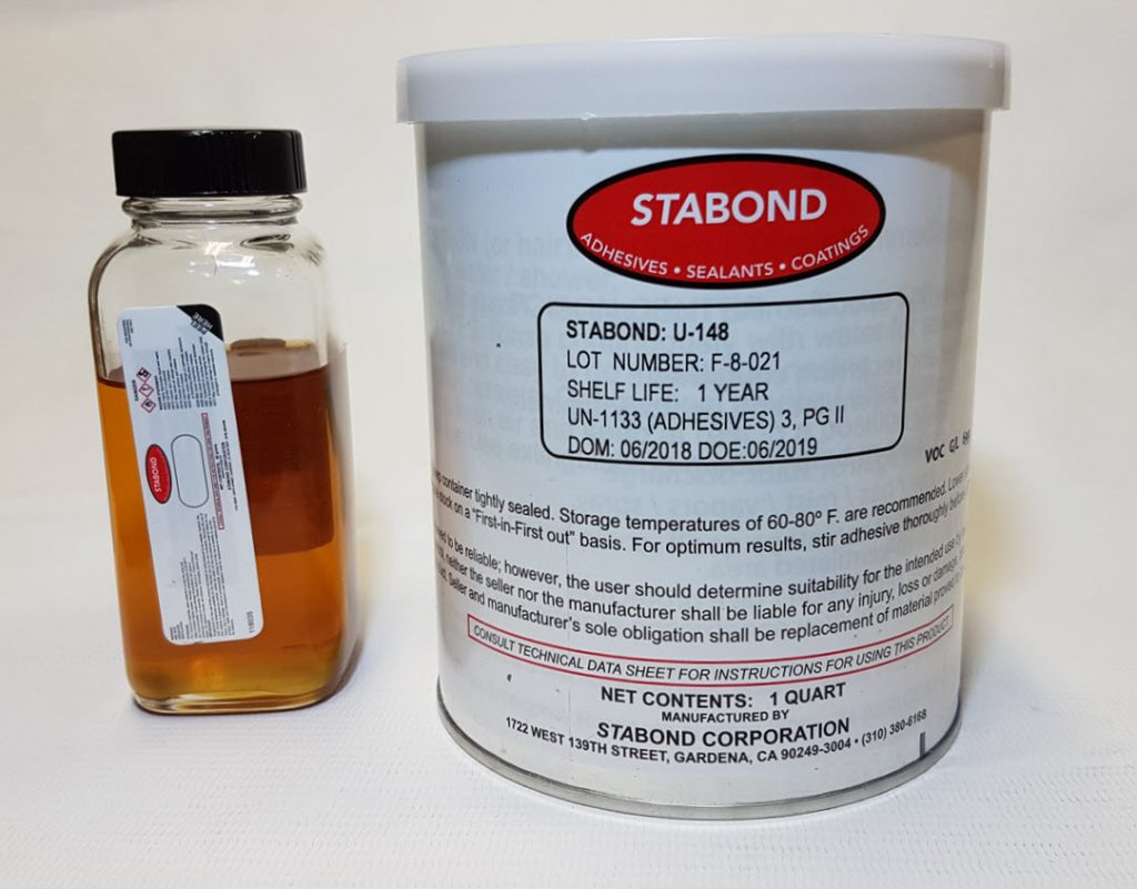 Stabond 2 Part Adhesive for PVC And Hypalon U-148