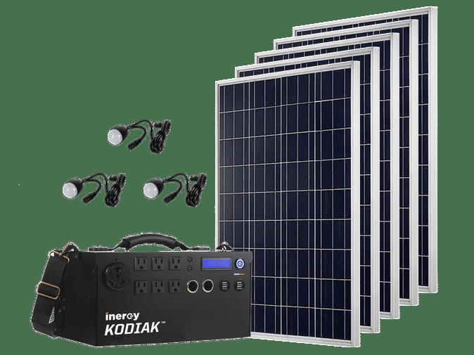 Inergy Kodiak Solar Generator Kit Gold Poco Marine