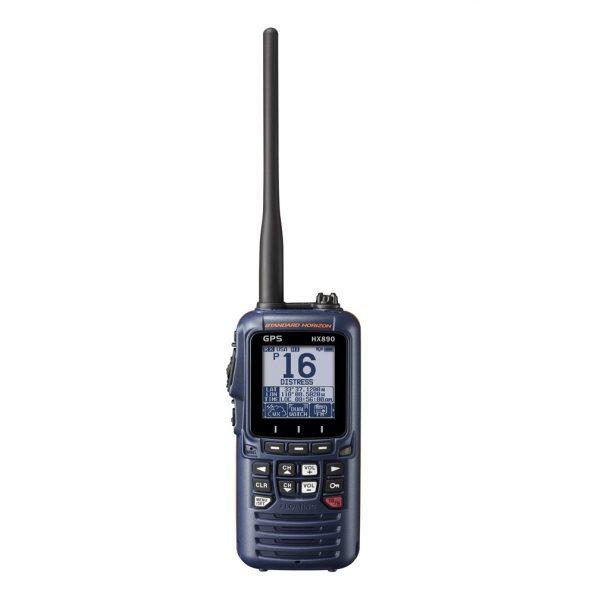 Standard Horizon HX890 Floating 6 Watt Class H DSC Handheld VHF/GPS