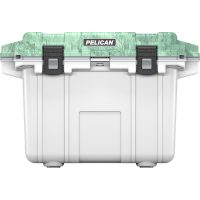 Pelican Elite Cooler 50 Quart Camo (white and green)