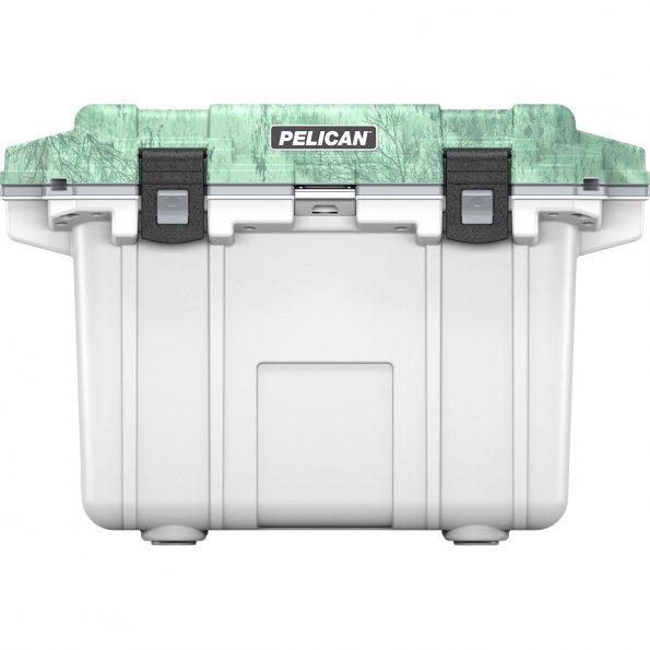 Pelican Elite Cooler 50 Quart Camo (white and green)