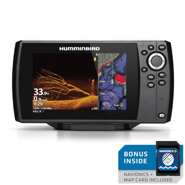 Humminbird Helix 7 CHIRP Mega DI GPS G4 With Navionics Canada Mapping