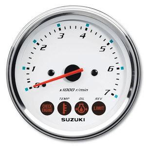 Suzuki Tachometer Assembly White